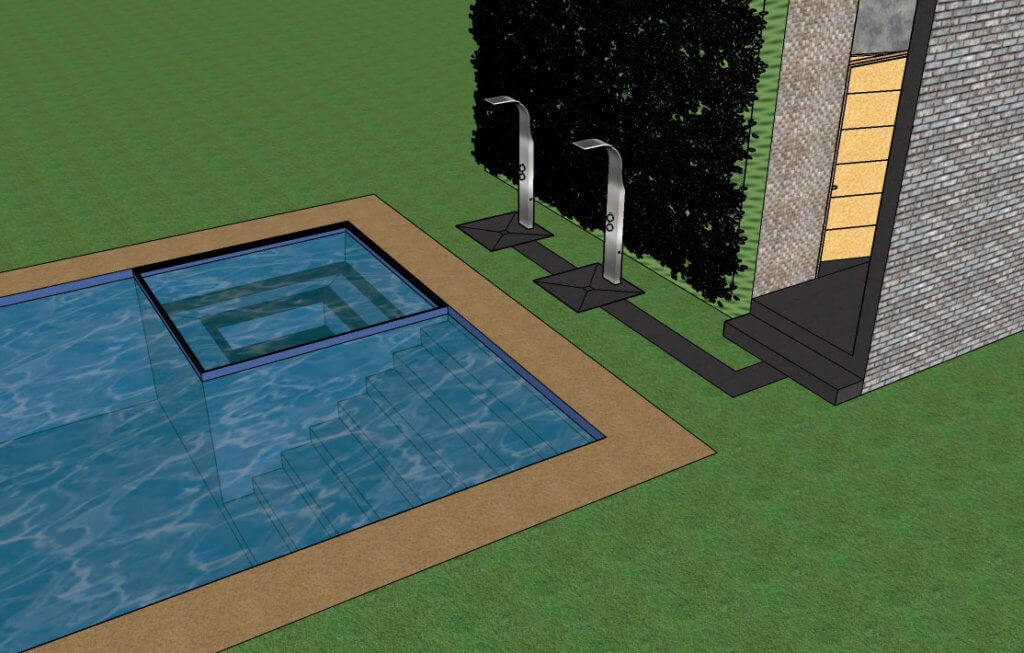 Proyecto Alberca Residencial Satélite