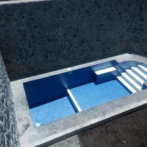 Construcción albercas residenciales en Sayavedra